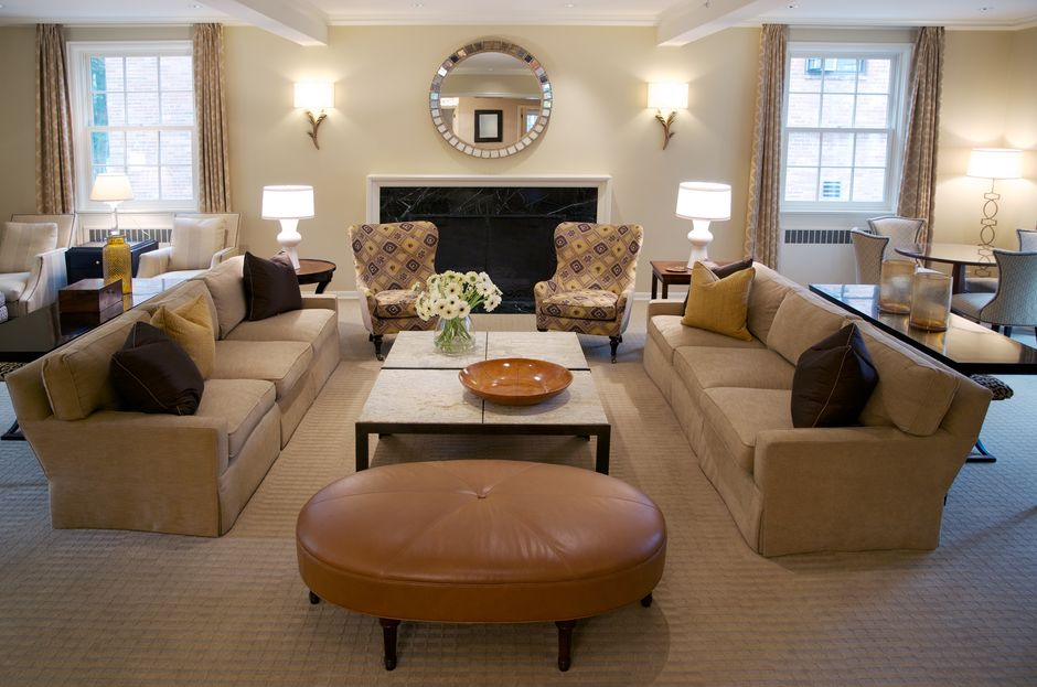 6 ways to warm up the living room without turning up the for Interior design living room warm