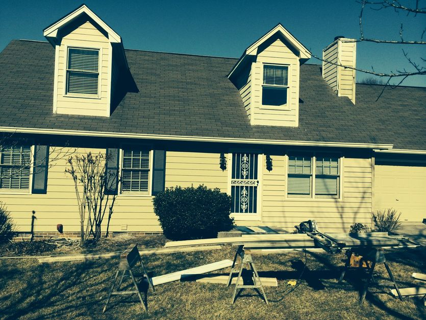 Vintage Wicker Prodigy Siding Job In Knoxville Tn Home